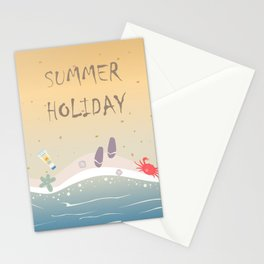 Summer Holiday Stationery Cards
