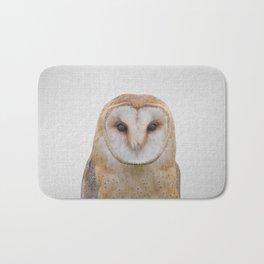 Owl - Colorful Bath Mat