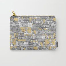 Paris toile gold Carry-All Pouch