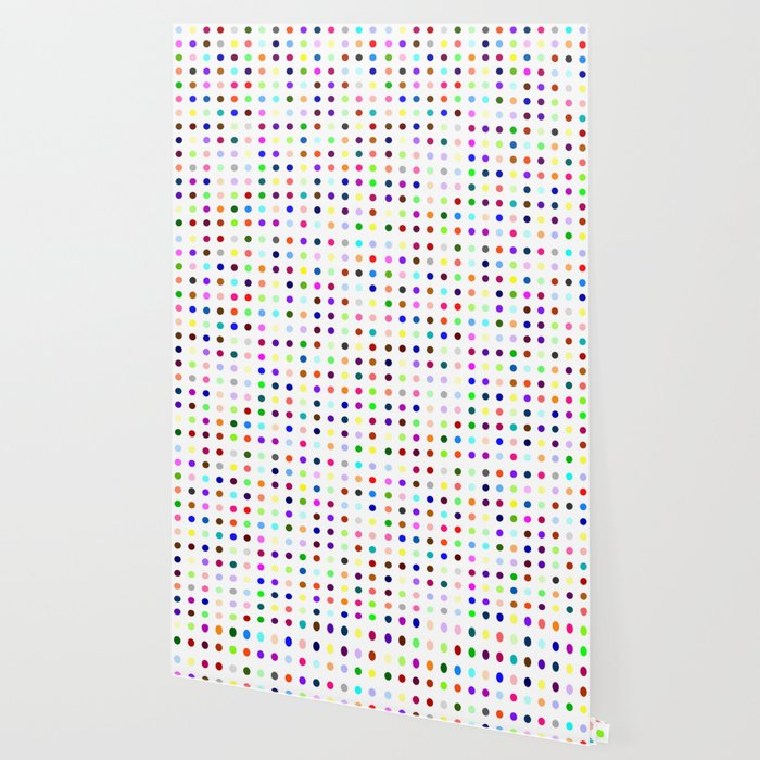 Big Hirst Polka Dot Wallpaper