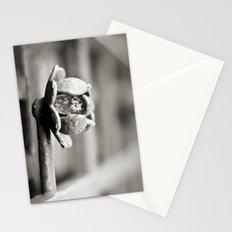 Fence B/W Stationery Cards
