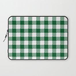 Green Vichy Laptop Sleeve