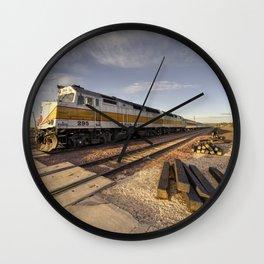 Canyon Rail Twylight Wall Clock