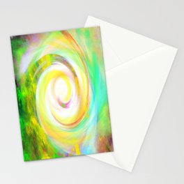 Spiral Eye Funny Wow Stationery Cards