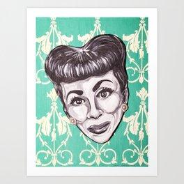 Mommie Dearest Art Print