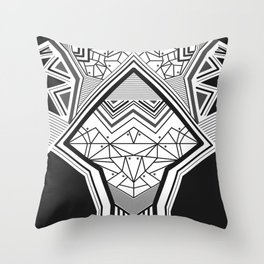 Geokoi Throw Pillow