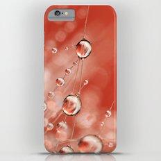 Cactus Rose Drops Slim Case iPhone 6 Plus