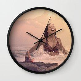 Water Goddess #5 Wall Clock