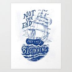 Beginning Art Print