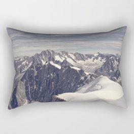 mountain spine Rectangular Pillow