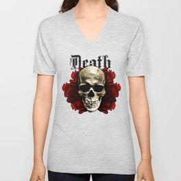 Death Skull Unisex V-Neck
