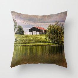 Kentucky CountrySide Throw Pillow