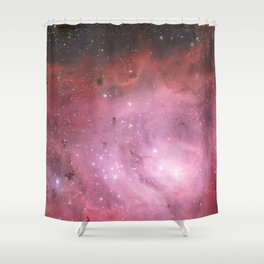 the Lagoon Nebula Shower Curtain