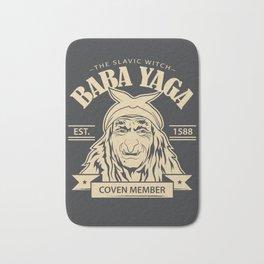 Baba Yaga Bath Mat