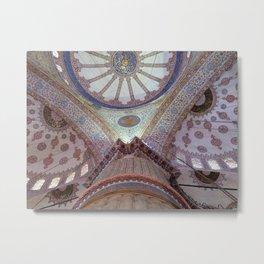 Blue Mosque - Ellie Wen Metal Print