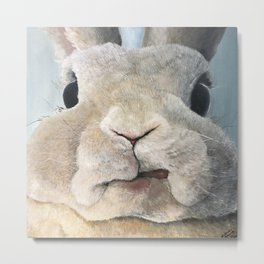 Jimmy The Bunny Metal Print