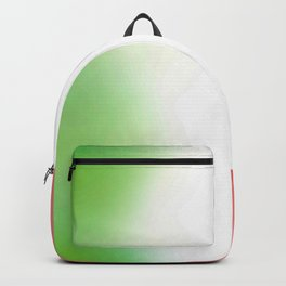 flag of Italy -with cloudy color Backpack