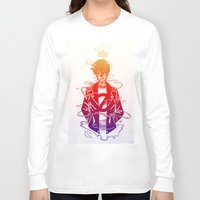 prince Long Sleeve T-shirts featuring Prince by Lance Phillips