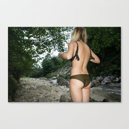Everyone Likes to Get on Stage and Be Applauded Canvas Print