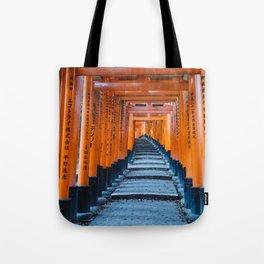 Fushimi Inari-taisha in Kyoto, Japan Tote Bag