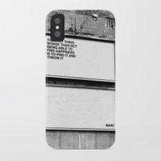 Billboard Fantasies #1 iPhone X Slim Case