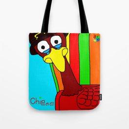 Sad Thanksgiving Turkey Tote Bag