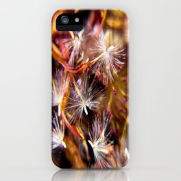 Flower Seeds-2 iPhone Case