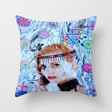 Tribal Peace Throw Pillow