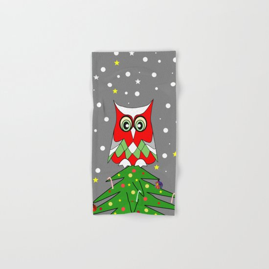 Tree Top Owl Hand & Bath Towel