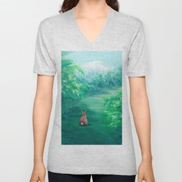 Into the Forest Unisex V-Neck