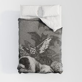 THE SLEEP OF REASON PRODUCERS MONSTERS - FRANCISCO GOYA Comforters