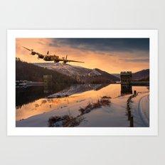 Lancaster Sunrise Art Print