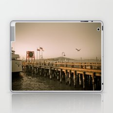 View of Alcatraz - The Rock Laptop & iPad Skin