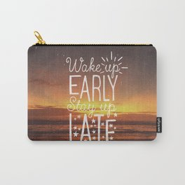 Stay up late Carry-All Pouch