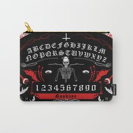 OUIJA Board Skull Carry-All Pouch