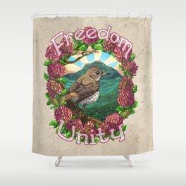 Freedom & Unity Shower Curtain