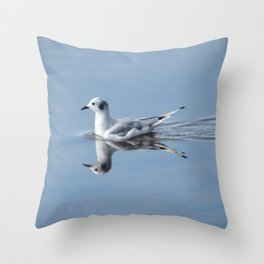 Bonaparte's Gull Throw Pillow