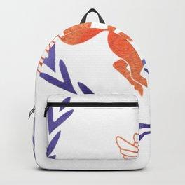 camp half blood orange and purple Backpack