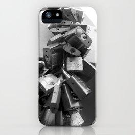Locked love iPhone Case