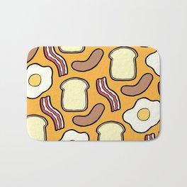 Breakfast Pattern Bath Mat