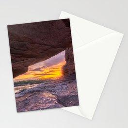 Thailand rocks sunset Ubon Ratchathani Grand Canyon Sam Phan Bok tropics cave Asia Stationery Cards