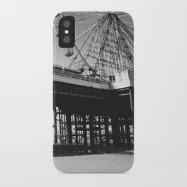 Blackpool Pier and big Wheel iPhone Case