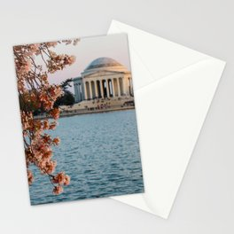 Cherry Blossoms at the Jefferson Stationery Cards