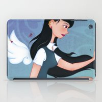 downton abbey iPad Cases featuring Abbey by Katherine Galo