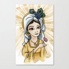 Princess Caraboo Canvas Print