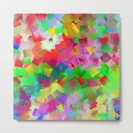 CC - chaotic cubism ... Metal Print