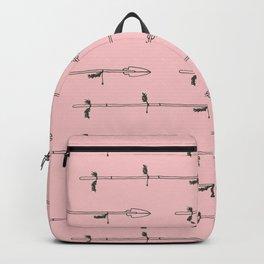 Boho Pink Arrow Backpack