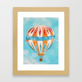Hot Air Balloon #5 Framed Art Print