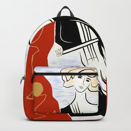 Woman with Cello ver. 01 Backpack