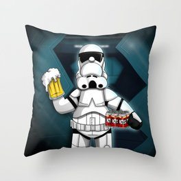 May The Duff Be With You. Throw Pillow